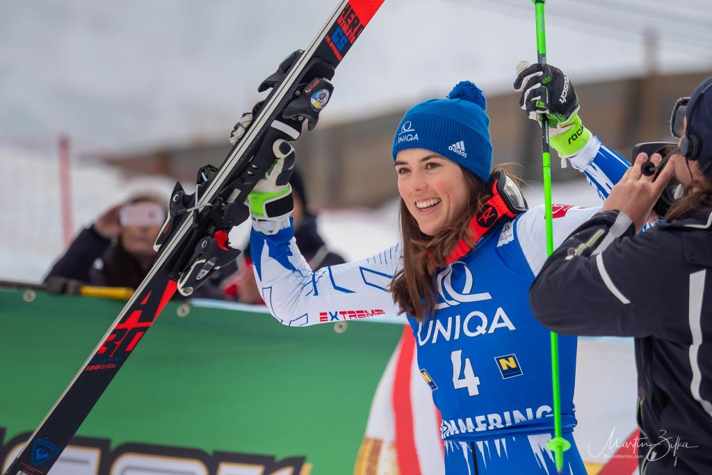 Petra Vlhová - slovenská lyžiarka, program, poradie, výsledky
