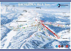 Volkl Cup ZSL _ 3.kolo _ Bachledova dolina mapa