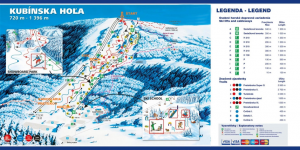 trať Kubínska hoľa - Rossignol cup Zväz slovenského lyžovania